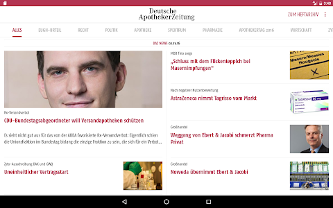 Deutsche Apotheker Zeitung screenshot 4