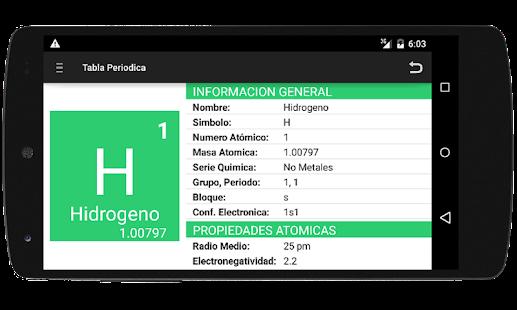 Tabla periodica y nomenclatura apk download urtaz Image collections