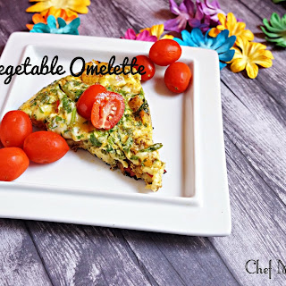 Parsi Vegetable Omelette