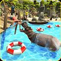 Hungry Hippo City Attack Revenge 3D icon