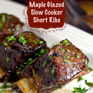 Slow Cooker Maple Glazed Short Ribs