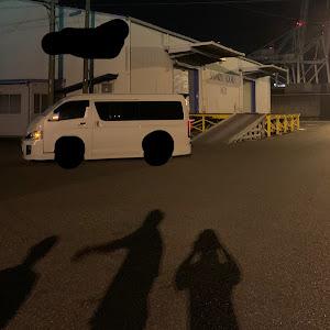 ハイエースバン  のカスタム事例画像 白箱さんの2020年09月06日09:35の投稿
