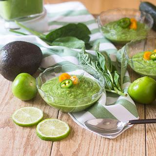 Green Gazpacho Soup Recipe