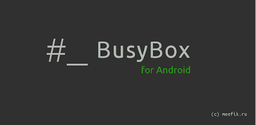 BusyBox 1 30 1 apk download for Android • ru meefik busybox