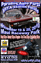 Photo: These images are fully copyrighted, usage without formal permission is prohibited by law. (In other words; try ask fo' use 'em...please.)  DVDs of all full-size, high resolution images are available. For pricing, please inquire c/o wheelerdealer @ maui-angels . com  To see all of my Maui drags albums go here: https://picasaweb.google.com/115007308076880016720  Please visit my personal drag racing web pages: http://www.maui-angels.com/wheelerdealer  For track info: http://www.mrp.org  On Facebook: https://www.facebook.com/maui.raceway.park?fref=ts  https://www.facebook.com/pages/Bruce-Wheelers-Wheeler-Dealer-AAFuel-Dragsters/119133934834675?ref=ts&fref=ts  Poster art by Mark Caires Designs