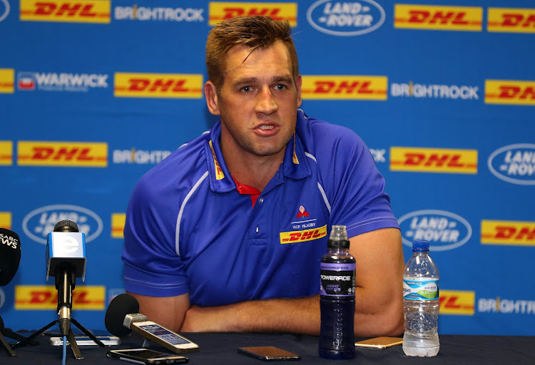 Western Province captain Chris van Zyl.