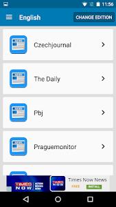 Czech Newspapers screenshot 2