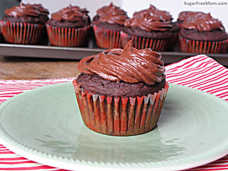 Gluten Free Dairy Free Chocolate Zucchini Cupcakes Recipe