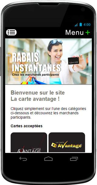 Cashback La Carte Avantage- screenshot