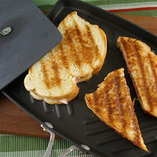 Classic Grilled Ham & Cheese Sandwich.
