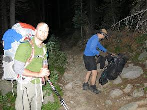 Photo: Night hiking. Photo by Dave Socky