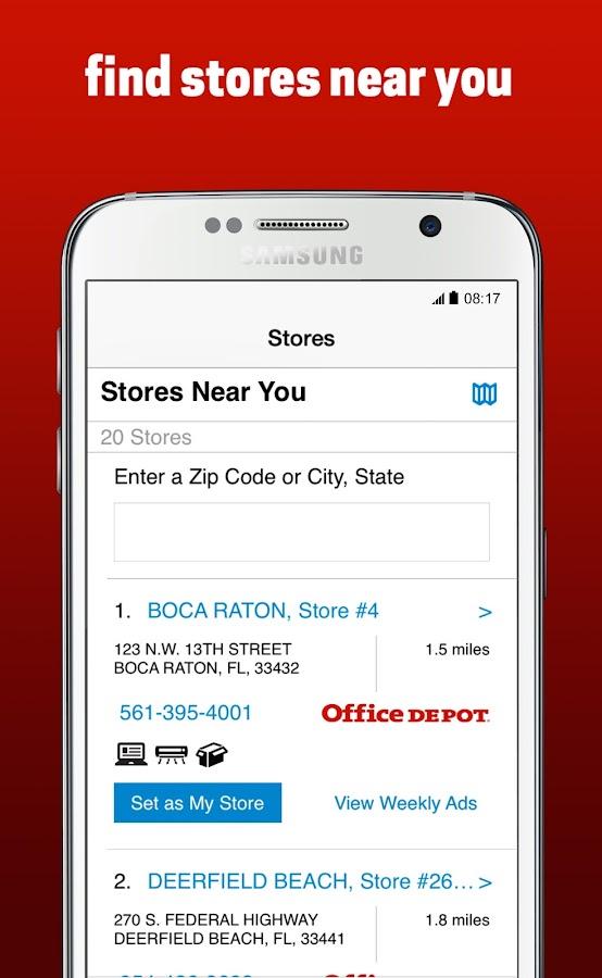 Office Depot®- screenshot