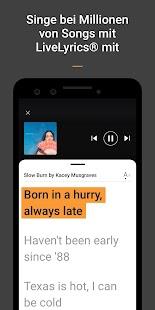 SoundHound - Musikerkennung & Musikwiedergabe Screenshot