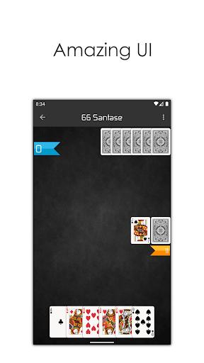 66 Online - Play Multiplayer Santase Card Game 7.6 screenshots 8