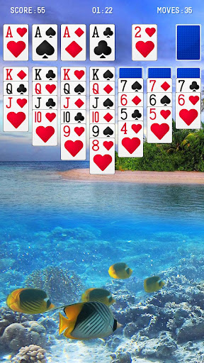 Screenshot for Solitaire Ocean in United States Play Store