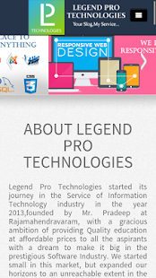 Legendpro Technologies- screenshot thumbnail