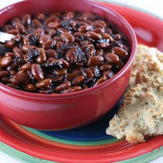 Slow Cooker Bourbon Baked Beans.