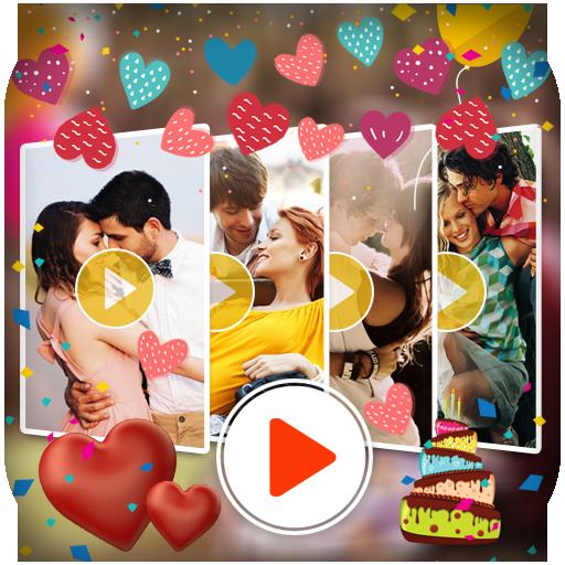 遊戲App Love Video Maker with Music LOGO-3C達人阿輝的APP