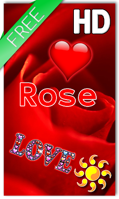 Rose Hearts LWP - screenshot