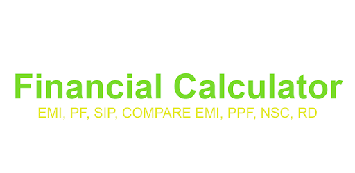 Financial Calculator- PPF, POST, EMI, SIP, PENSION for PC
