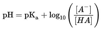 Hasselbach-Henderson equation