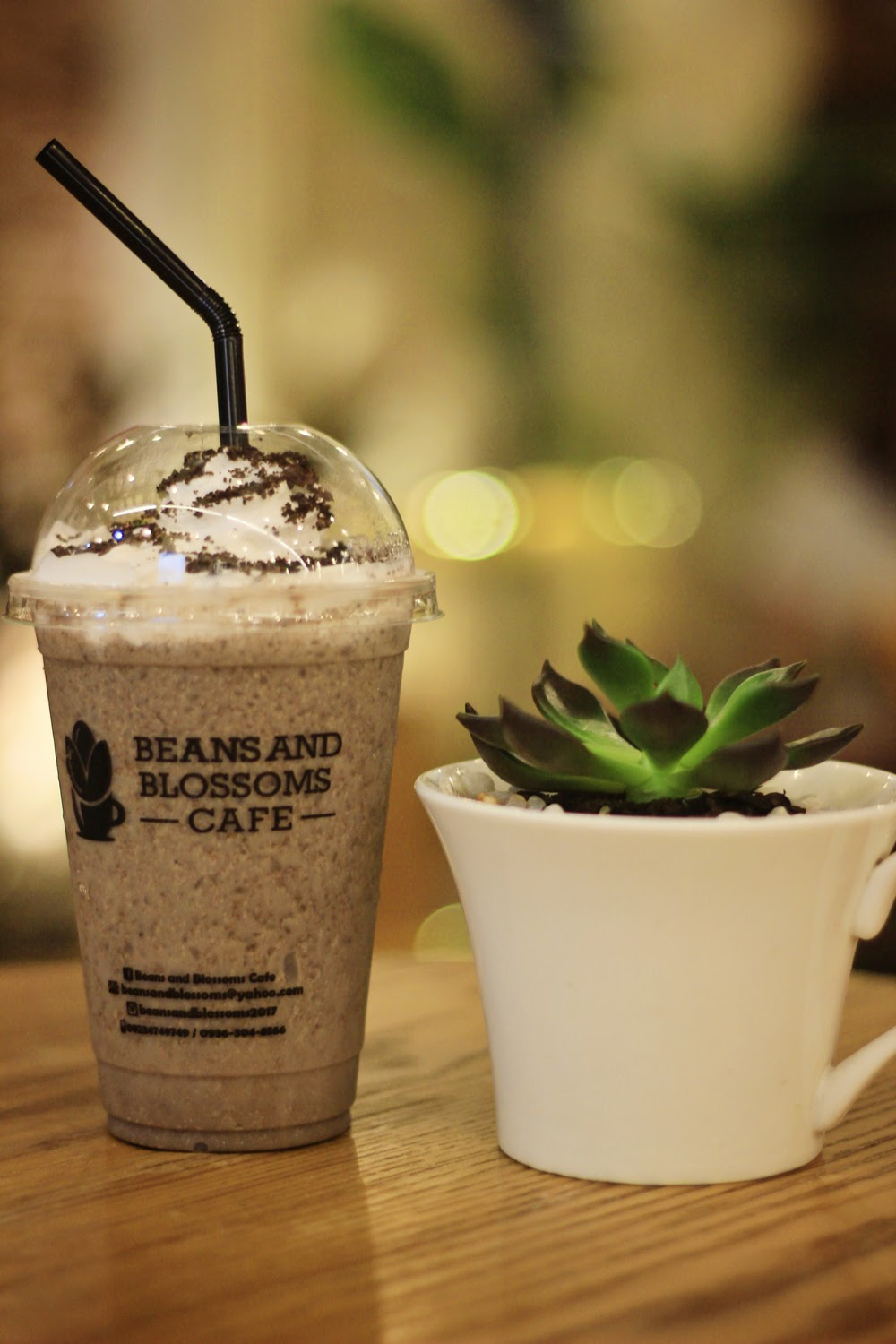 Beans and Blossom Oreo Magnifico Frappe