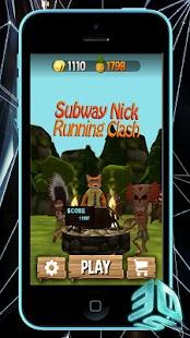 Subway Nick Running Clash - náhled