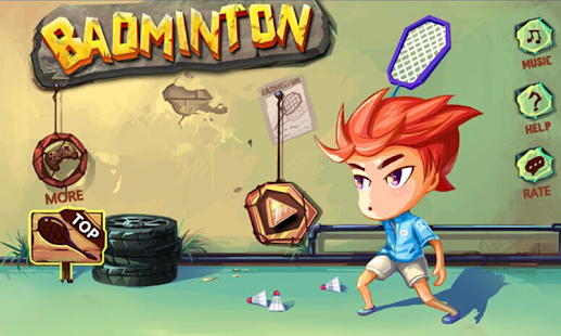 Badminton bintang Mod