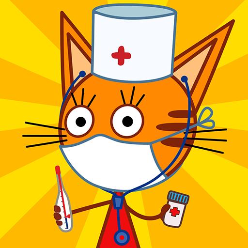 Три Кота: Детский Доктор игра от СТС! Врач игра