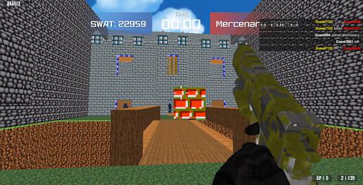 Advanced Blocky Combat SWAT apkpoly screenshots 13