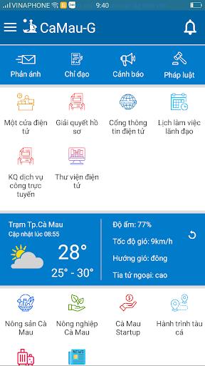 CaMau-G (Chính quyền điện tử tỉnh Cà Mau) screenshot 1