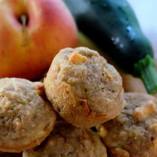 Peach Zucchini Muffins