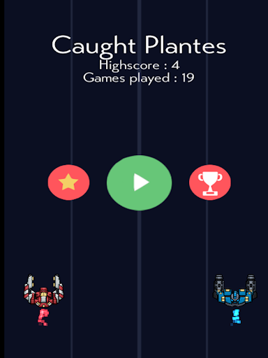 Caught Planets - screenshot