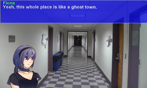 13 Letters - Dark Visual Novel Screenshot