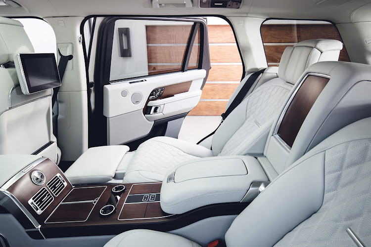 Jaguar Land Rover's SVO division can create the ultimate business-class Range Rovercompany's
