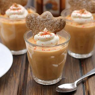 Gingerbread Pudding Shots.
