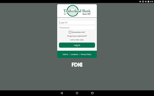 Timberland Bank Mobile Banking- screenshot thumbnail