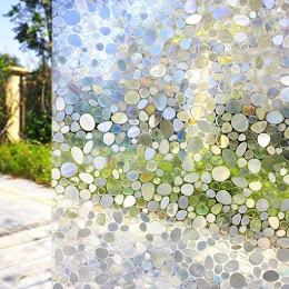 Folie geam vitrostatica cu efect lucios, 45 cm x 300 cm