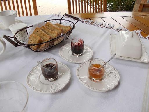 petit déjeuner à la maison d'hôtes en Vaucluse