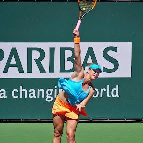 BNP 2017 - Anastasia Pavlyuchenkova by Jeffrey Hechter - Sports & Fitness Tennis