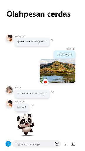 Skype – pesan instan & panggilan video gratis