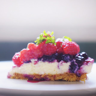No-Bake Sous Vide Cheesecake