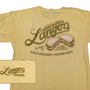 Langer's Logo Script Shirt