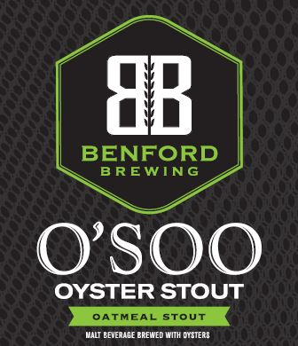 Logo of Benford O'Soo Oyster Stout Bourbon Barrel Aged