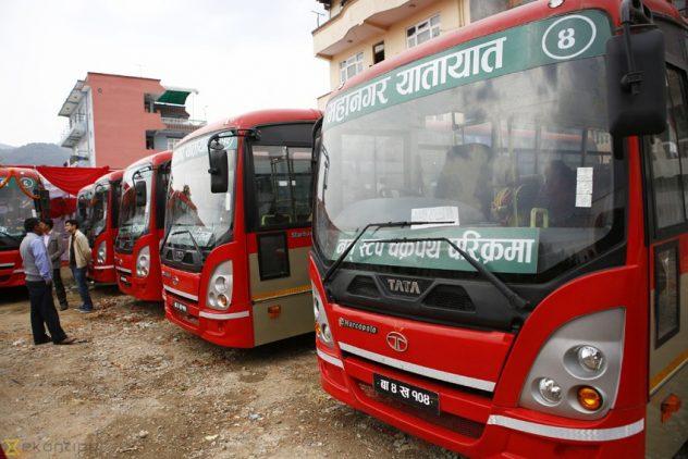 Explore Whole Kathmandu by Public Transport? City Buses?