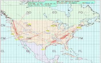 Photo: 50 MHz eSkip - 2014-06-15 1957z - ARRL June VHF 2014