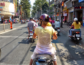 Photo: VIETNAM Ho chi minh - scooter (Pana)