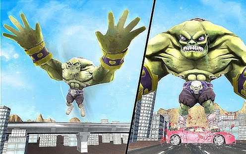 Superhero Incredible Monster Hero City Battle - náhled