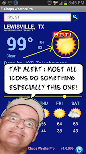 The Best Funny Weather by F-Chops WeatherPod- screenshot thumbnail