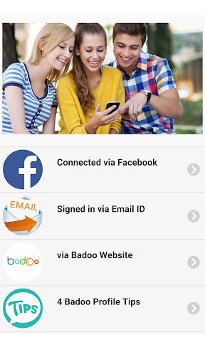 玩免費遊戲APP|下載Guide for Badoo Chat app不用錢|硬是要APP
